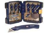 Irwin Blue Groove 6X Bit Set (6-Piece) with FREE Knife